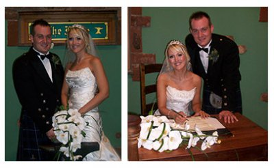 A family member married at The Mill Forge