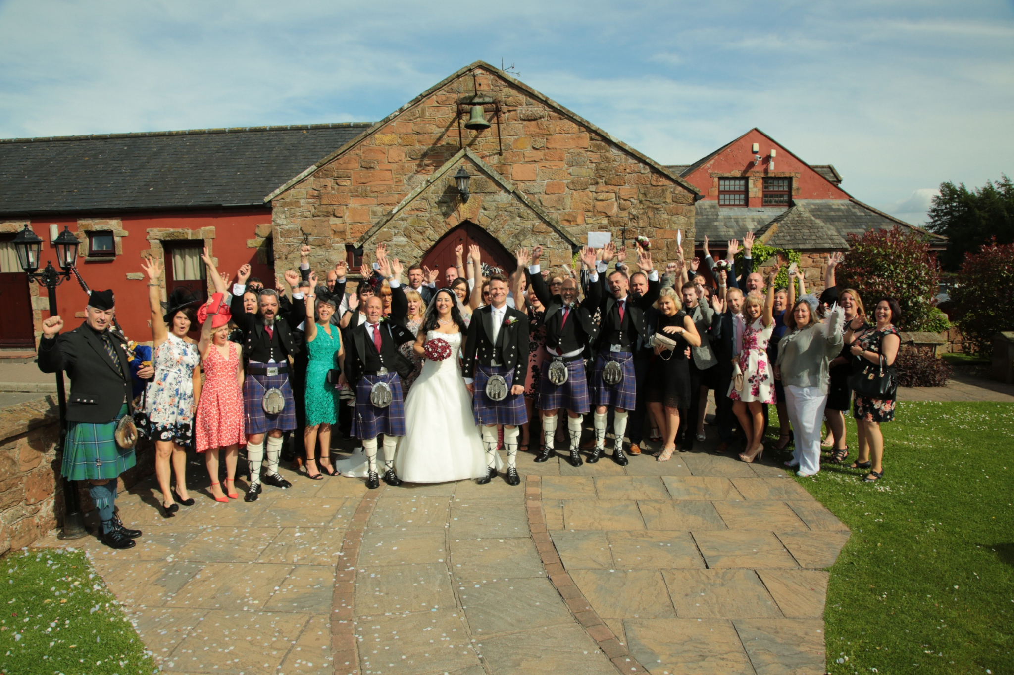 Ultimate Exclusive Wedding Package from The Mill Forge Hotel, Gretna Green