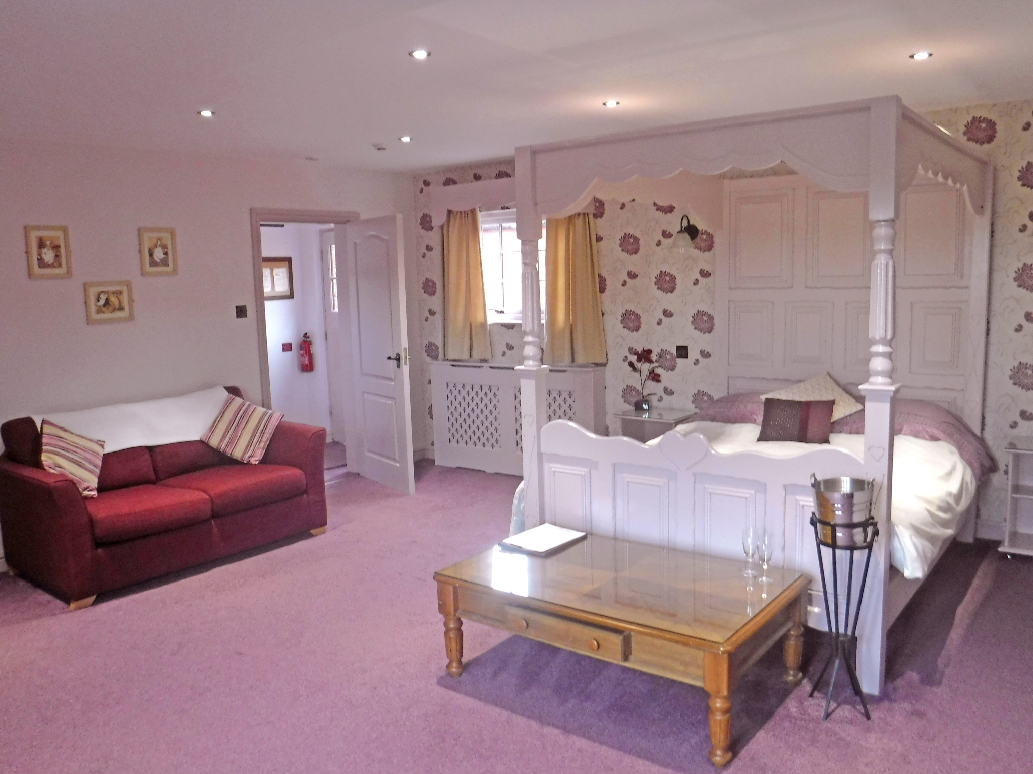 Accommodation at The Mill Forge Hotel near Gretna Green