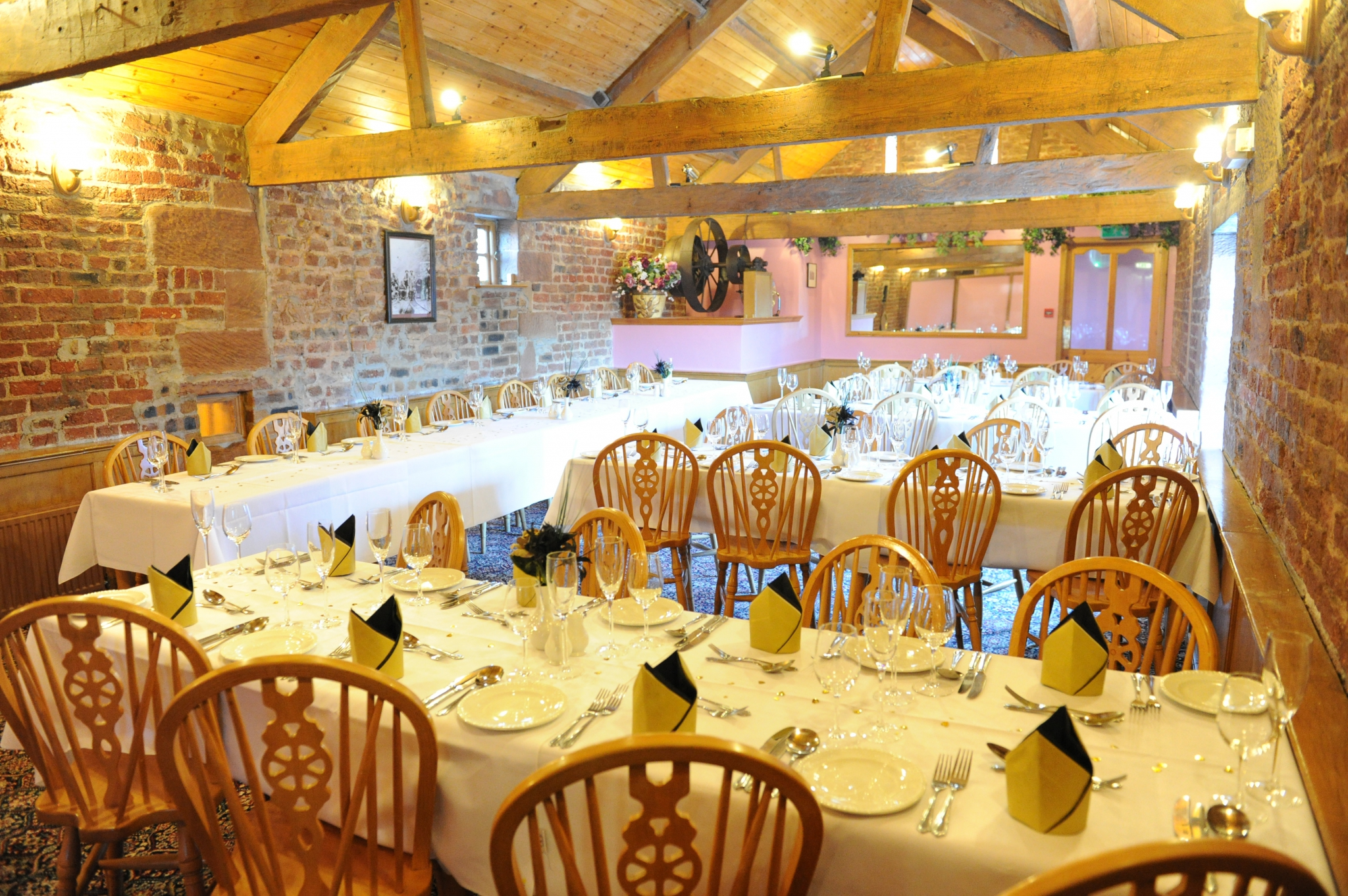 Function rooms at The Mill Forge near Gretna Green