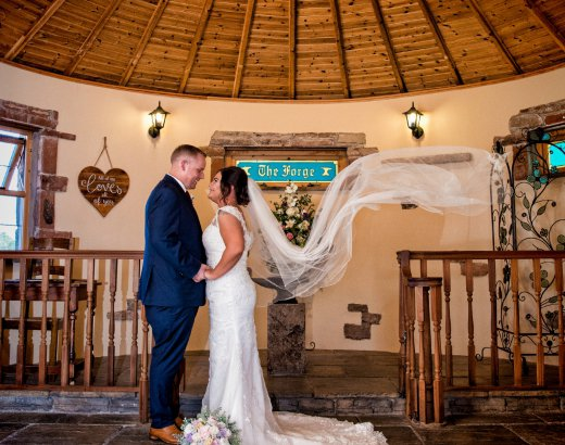 Wedding Venue Scotland - The Mill Forge Hotel and Wedding Venue near Gretna Green, Scotland